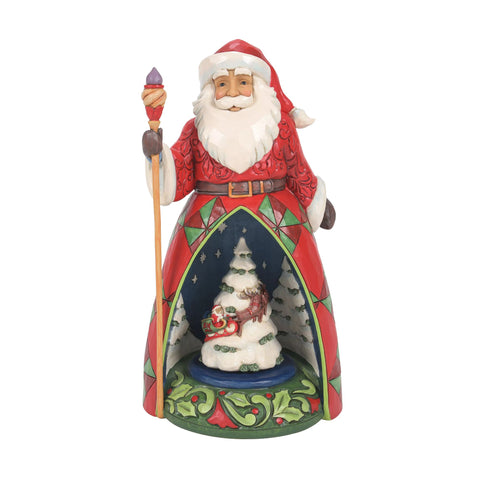 Santa Lighted Rotator