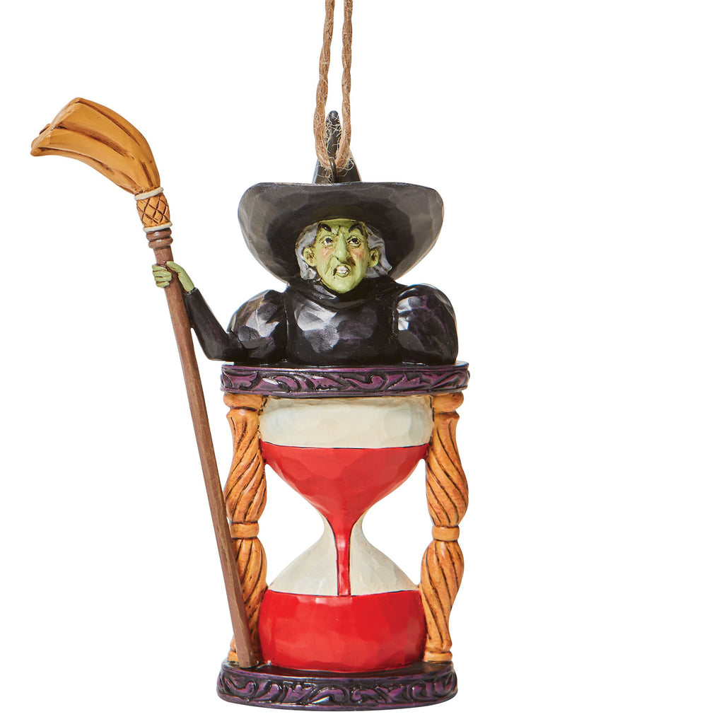 Wicked Witch Hourglass Ornamen