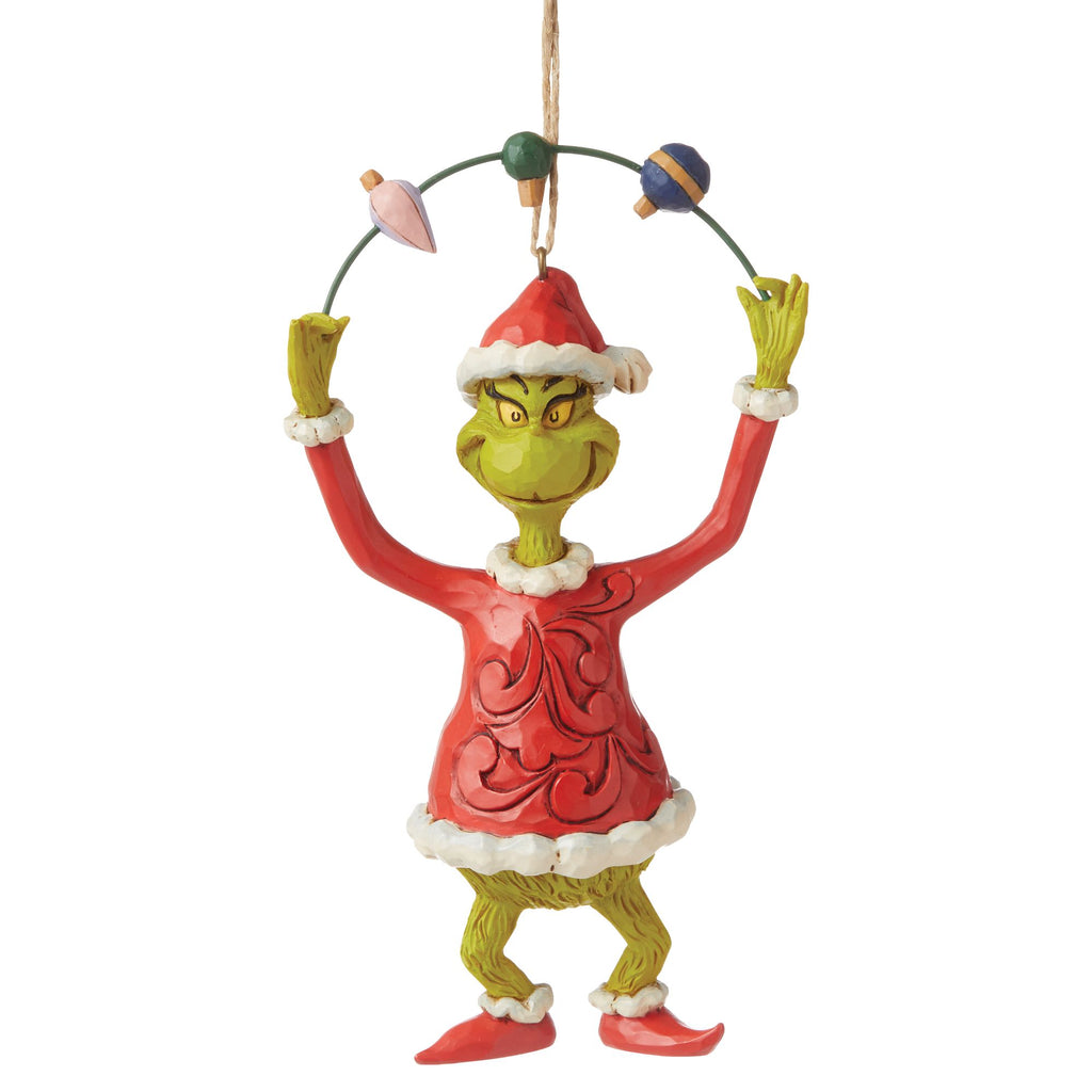 Grinch Juggling Ornament