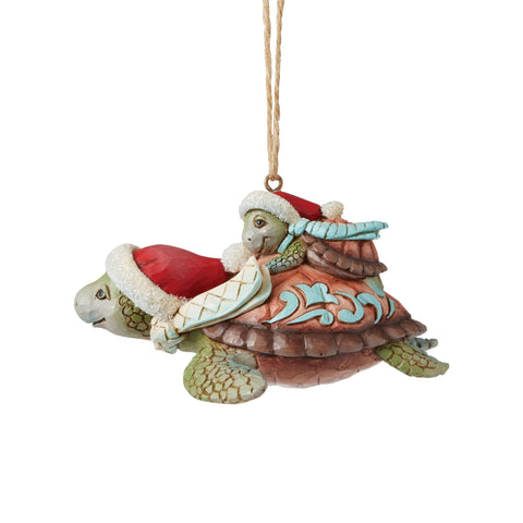 Christmas Sea Turtle Ornament