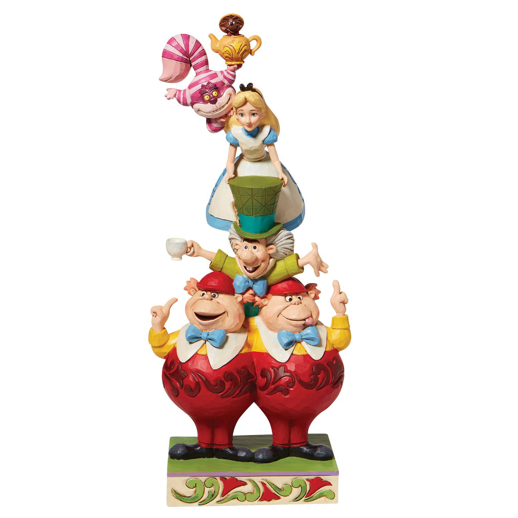 Alice in Wonderland Stacked