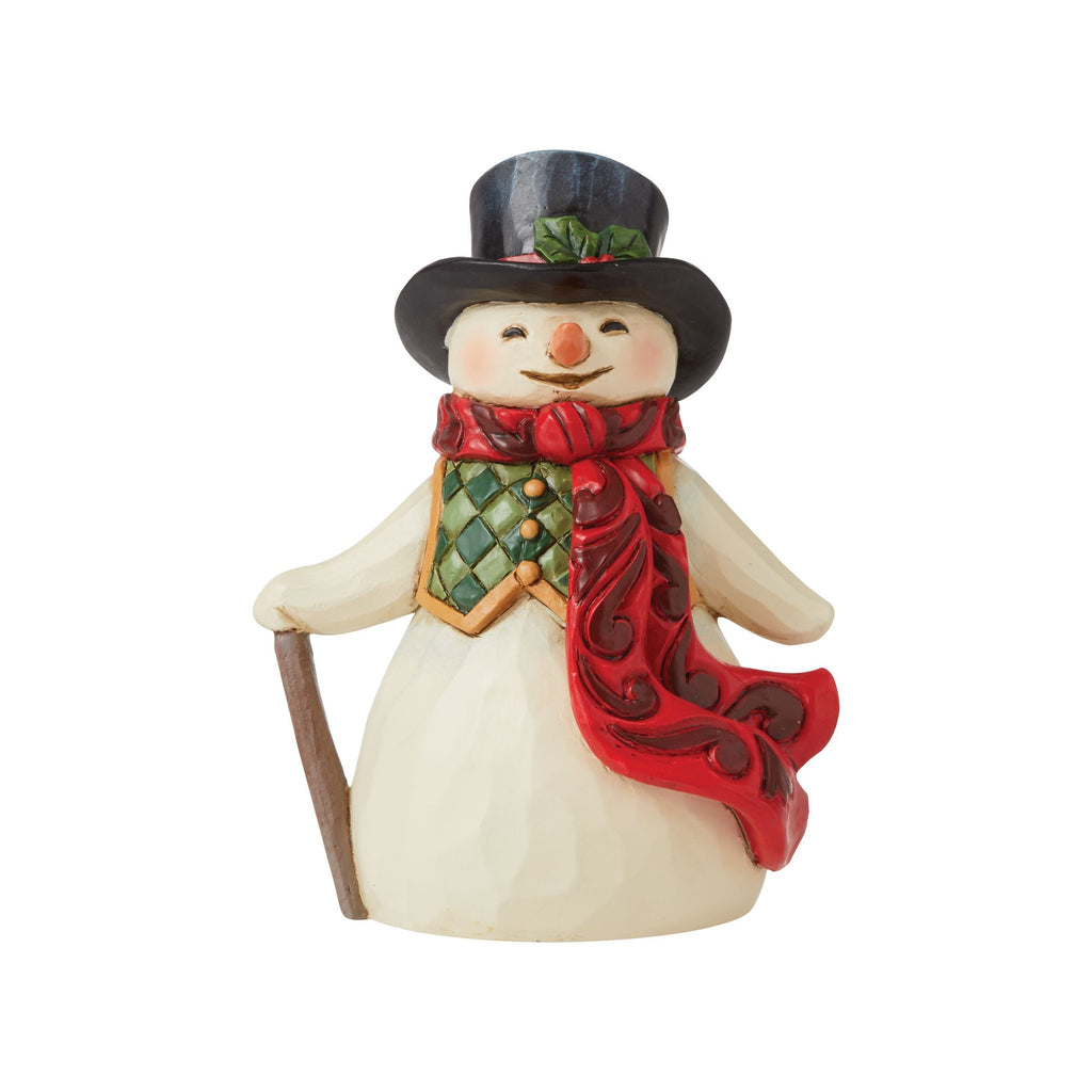 Snowman with Long Scarf Mini