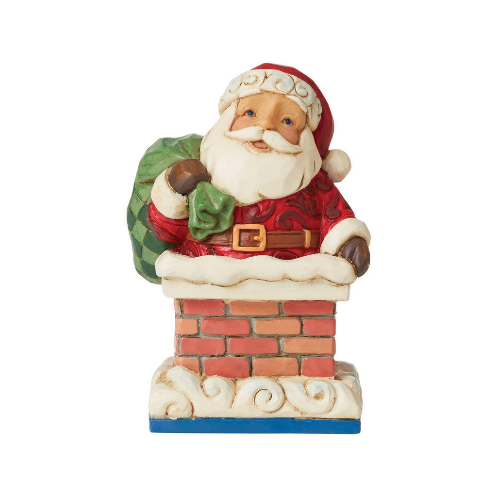 Santa in Chimney Mini