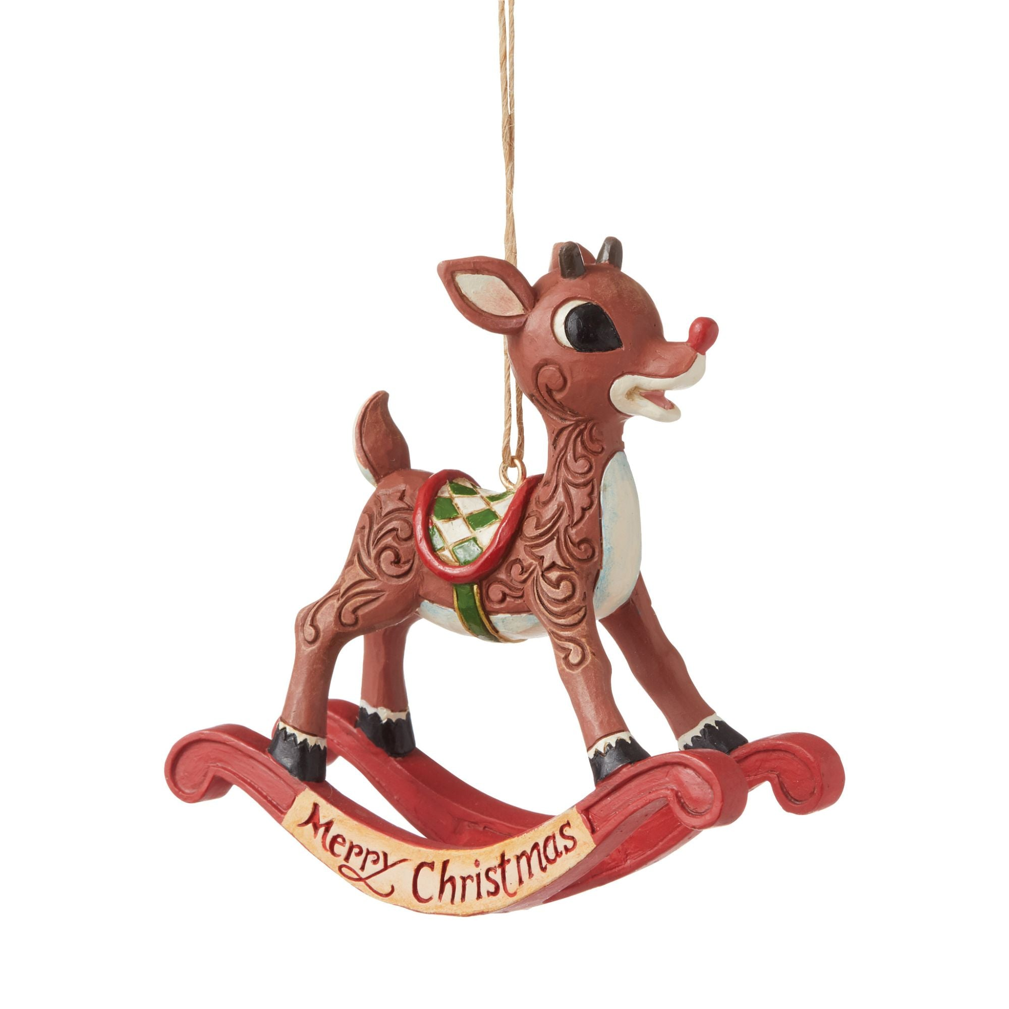 Rudolph Rocking Horse Ornament