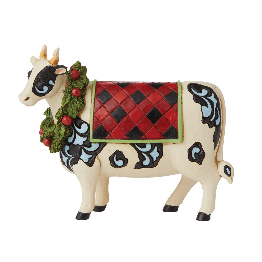 Country Christmas Cow