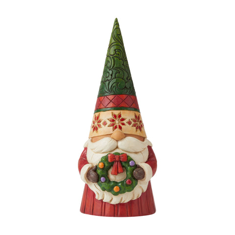 Christmas Gnome with Wreath