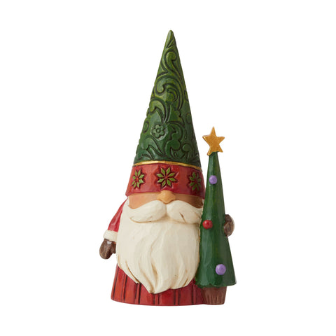 Christmas Gnome with Tree