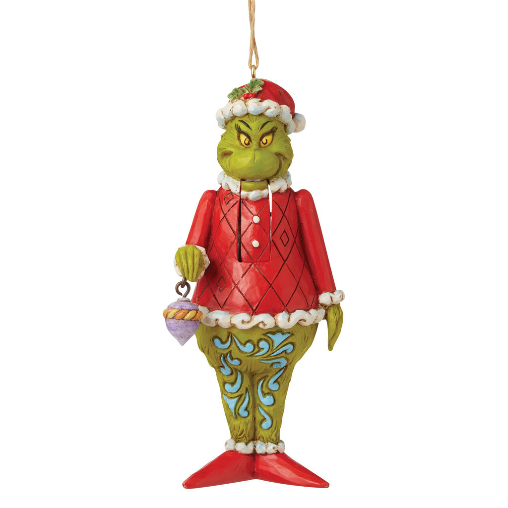 Grinch Nutcracker Ornament