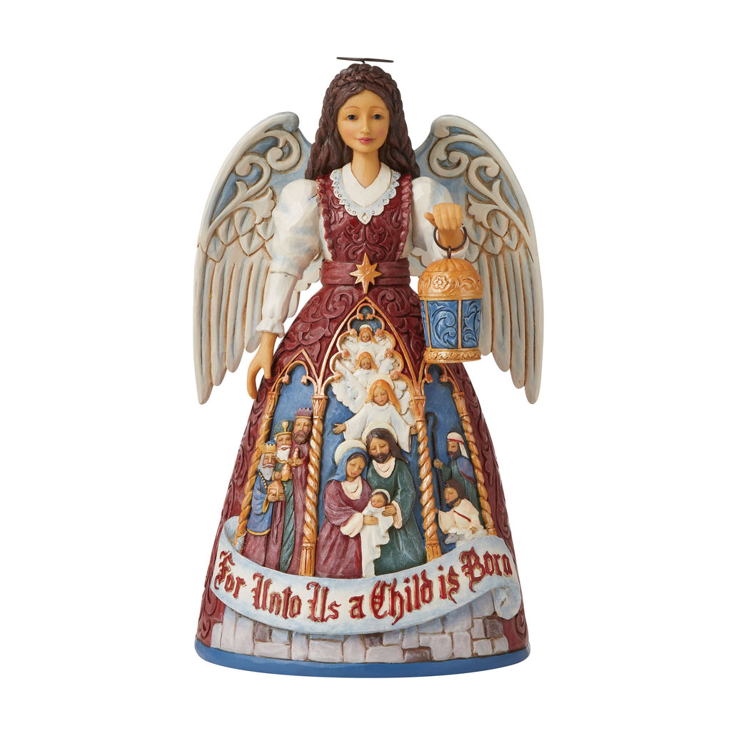 Victorian Nativity Angel