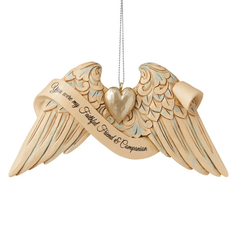 Pet Bereavement Angel WingsOrn
