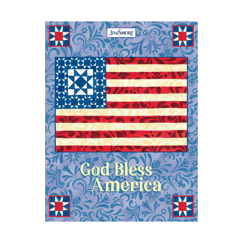 JS Bless America Lined Journal
