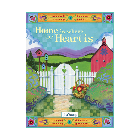 JS HometheHeart  Lined Journal