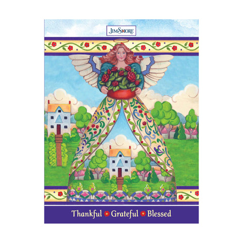 JS ThankGrateful Lined Journal