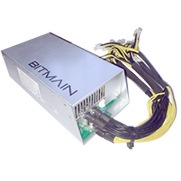 Bitmain Antminer PSU APW3++ (Estimated Manufacturer delivery: Oct 2017)
