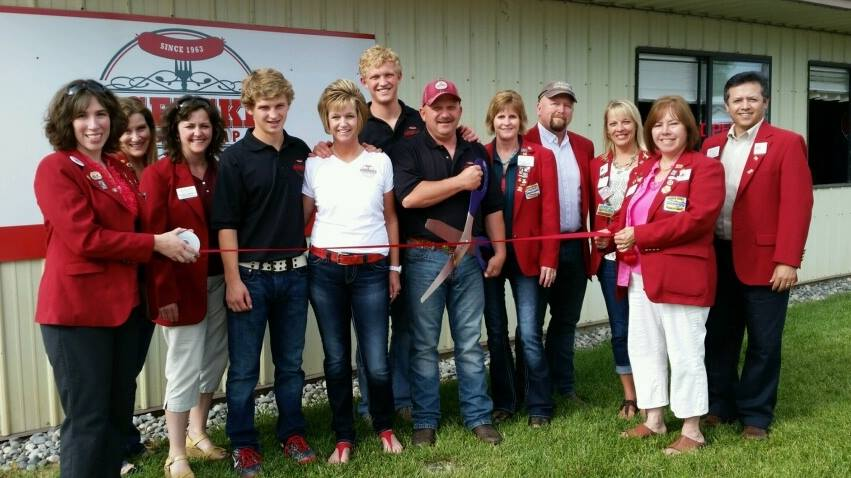 Legerski Sausage Company Ribbon Cutting