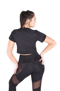 The Flossy High Waist Mesh Legging