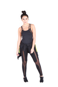 The Laura T Mesh Legging