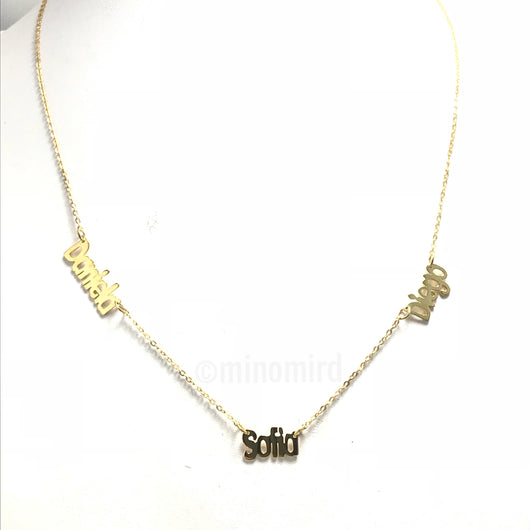 Multi Name Necklace (3)