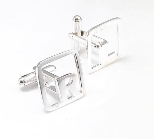 Square Border Cuff Links (Gemelos)