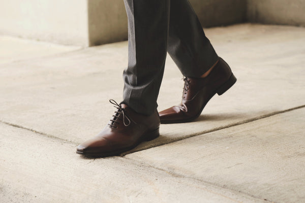classic Italian leather oxfords
