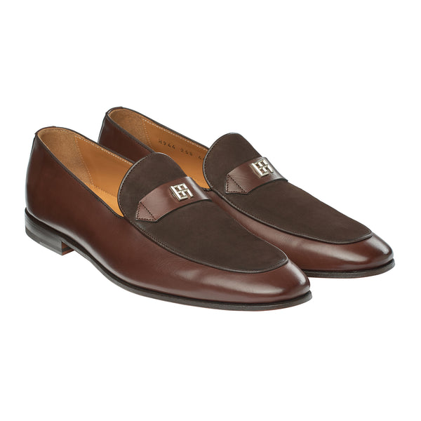 The Duke Loafer in Velvet Terra