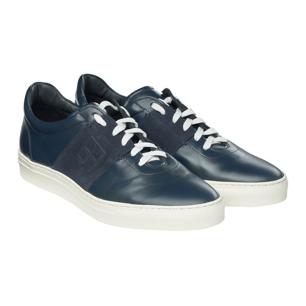 The Icon Sneaker in Dark Azure