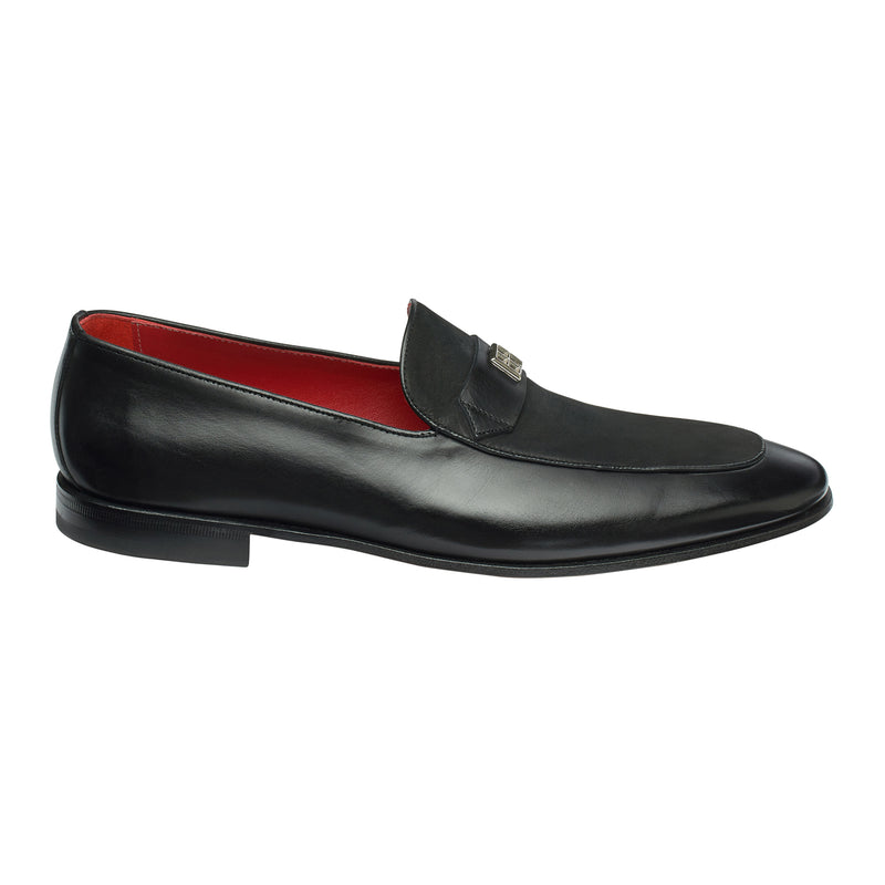 The Duke Loafer in Velvet Onyx