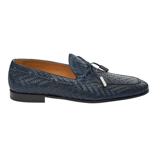 The Artisan Loafer in Dark Azure
