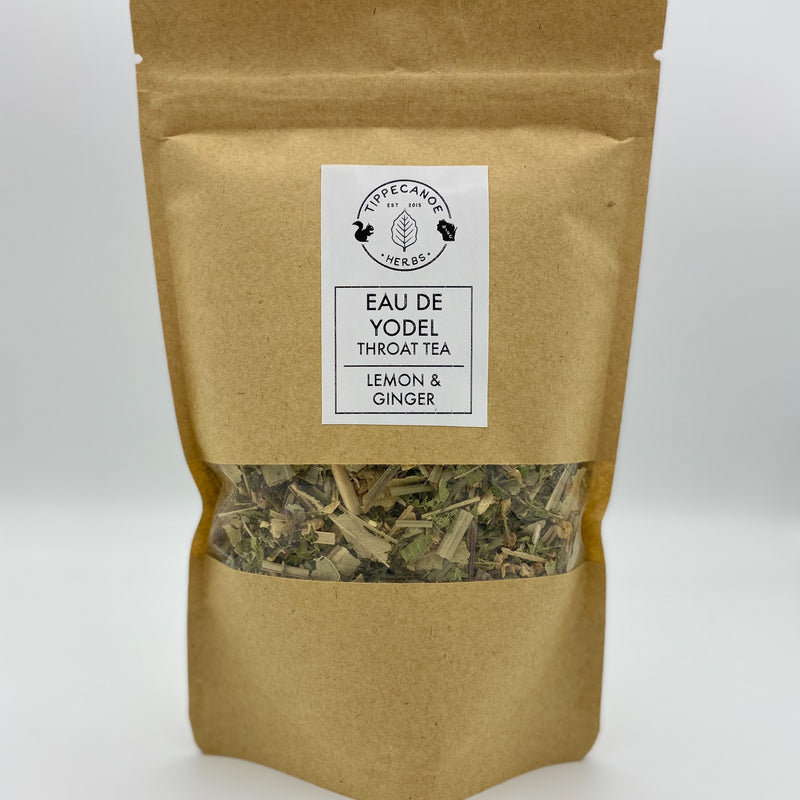 Eau De Yodel - Throat Tea - Tippecanoe Herbs Herbalist Milwaukee