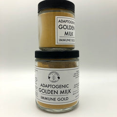 Adaptogenic Golden Milk - Immune Gold - Tippecanoe Herbs Herbalist Milwaukee
