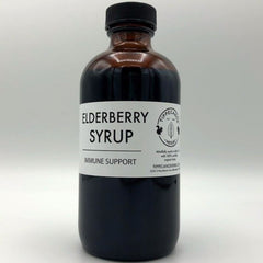 Elderberry Syrup - 3 sizes available - Tippecanoe Herbs Herbalist Milwaukee