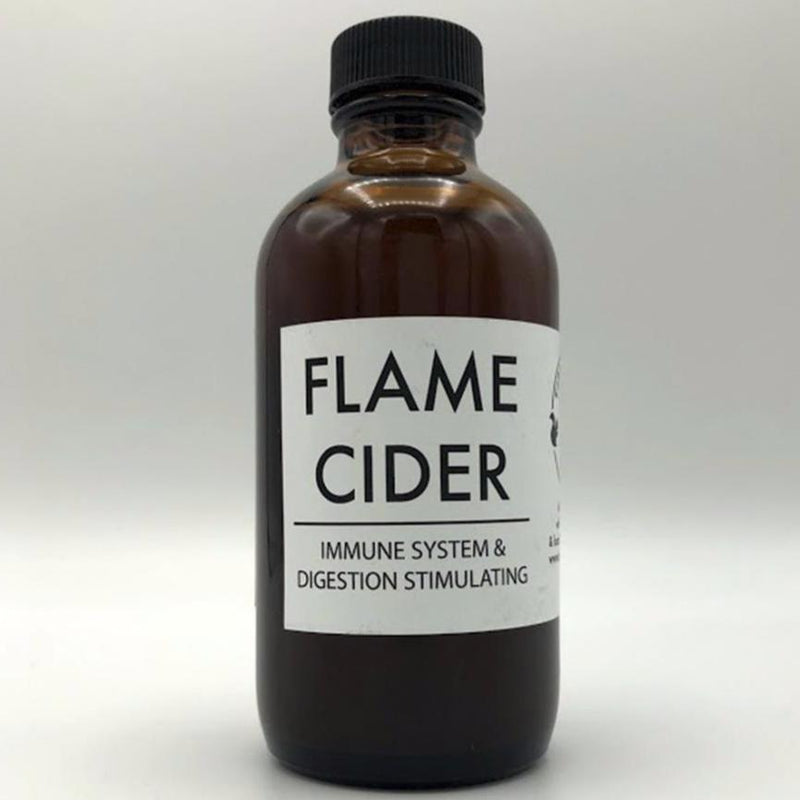 Flame Cider - 3 sizes available - Tippecanoe Herbs Herbalist Milwaukee