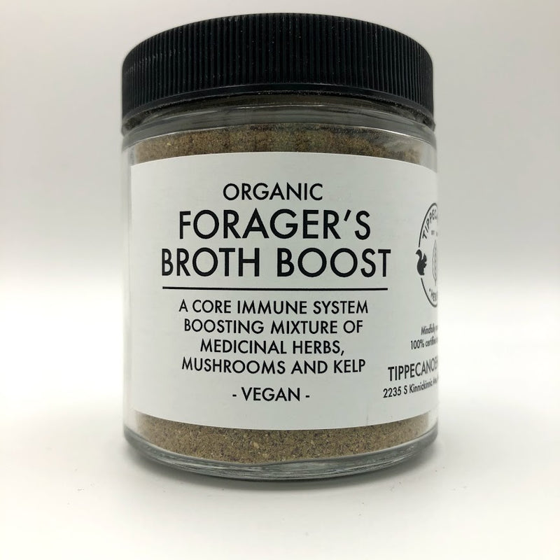 Forager's Broth Boost - Vegan - Tippecanoe Herbs Herbalist Milwaukee