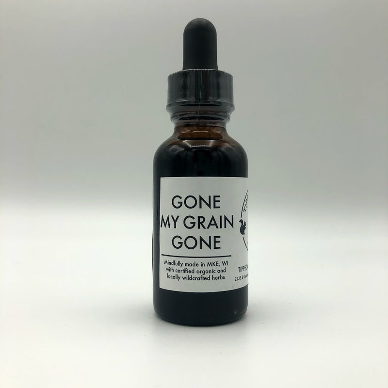 Gone My Grain Gone Tincture - Tippecanoe Herbs Herbalist Milwaukee