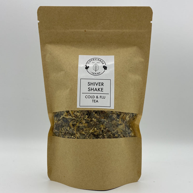 Shiver Shake Cold and Flu Tea - Tippecanoe Herbs Herbalist Milwaukee