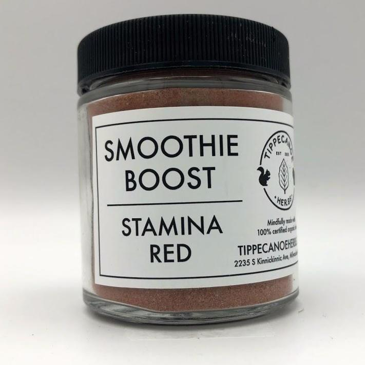 Smoothie Boost - Stamina Red - Tippecanoe Herbs Herbalist Milwaukee