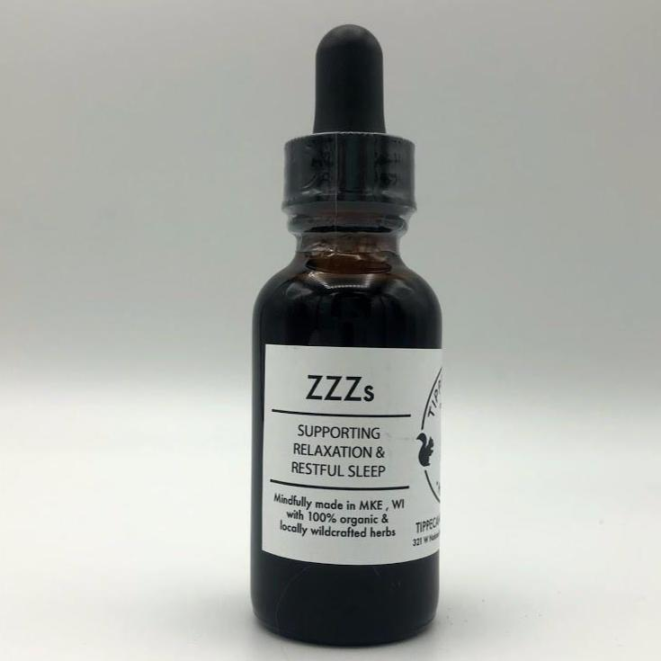 Sleep Tincture - ZZZs - Tippecanoe Herbs Herbalist Milwaukee