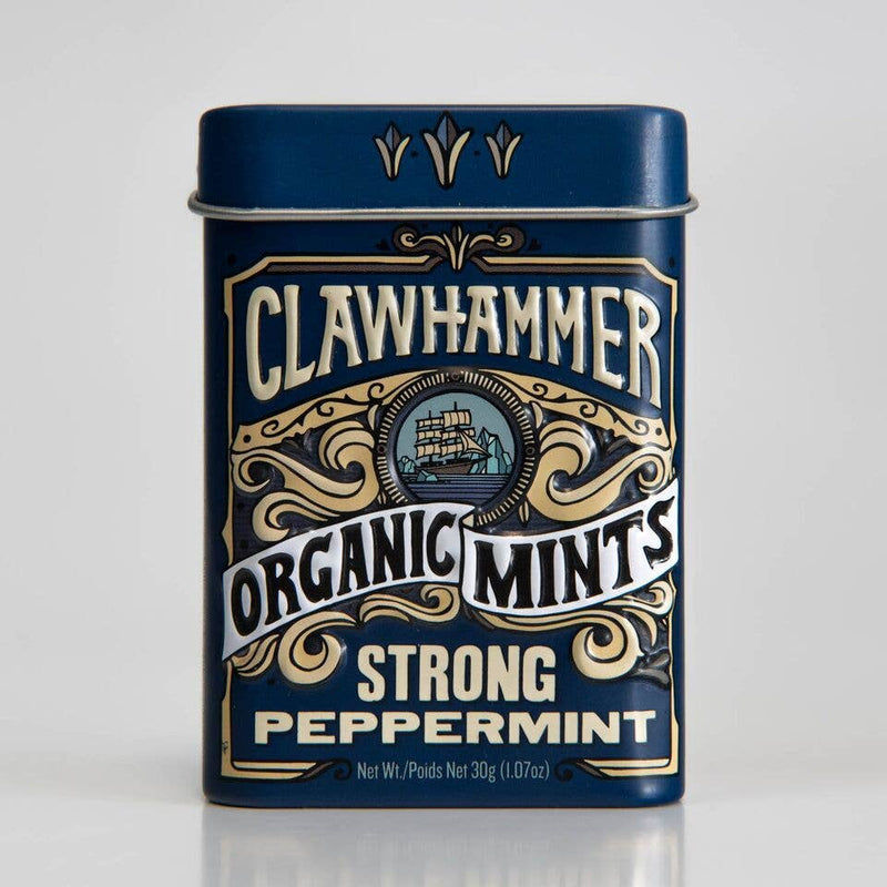 Clawhammer Certified Organic Mints - Strong Peppermint