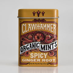 Clawhammer Certified Organic Mints - Spicy Ginger Root