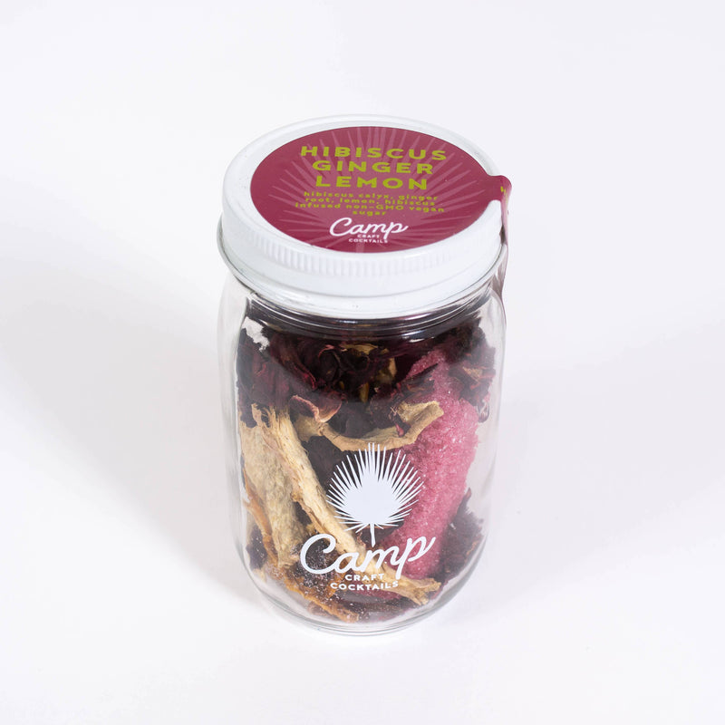 Craft Cocktail Kit - Hibiscus Ginger Lemon
