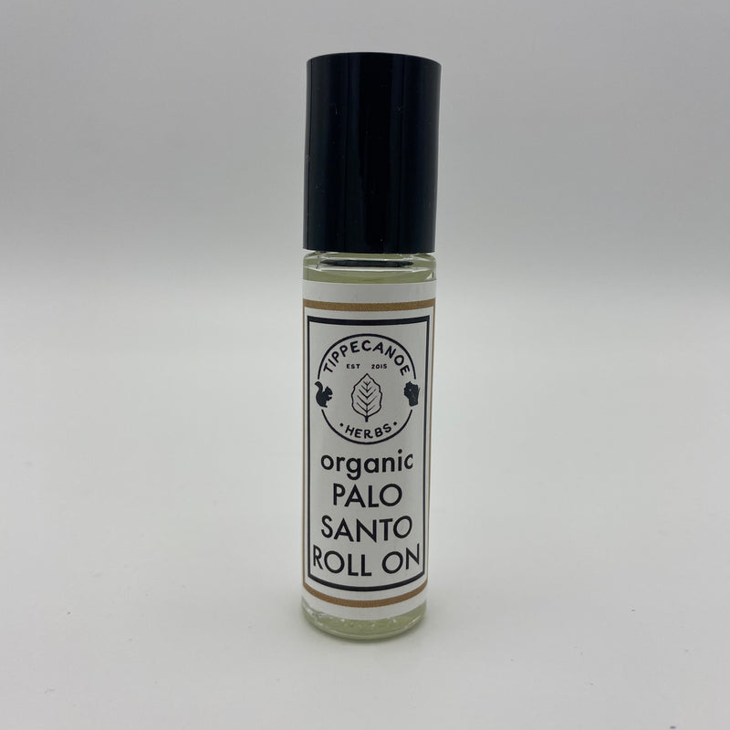 EO Roll On - Palo Santo - Tippecanoe Herbs Herbalist Milwaukee