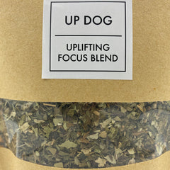 Up Dog Tea - Uplifting Focus Blend - Tippecanoe Herbs Herbalist Milwaukee