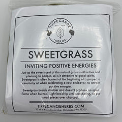 Sweetgrass Braid - Tippecanoe Herbs Herbalist Milwaukee