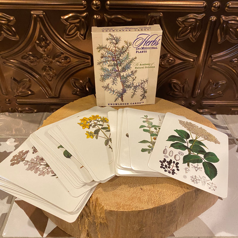 Knowledge Cards - Herbs and Medicinal Plants