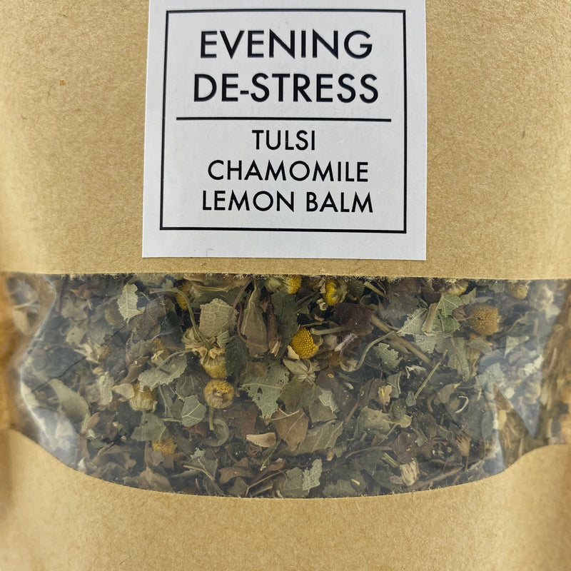 Evening DeStress Tea - Tippecanoe Herbs Herbalist Milwaukee