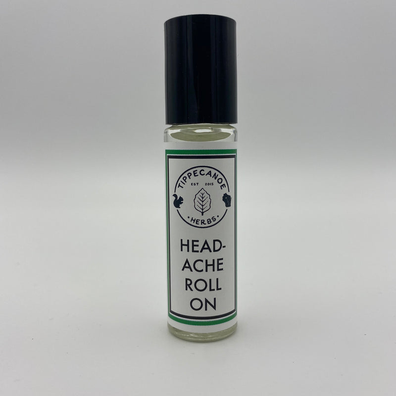 EO Roll On - Headache - Tippecanoe Herbs Herbalist Milwaukee
