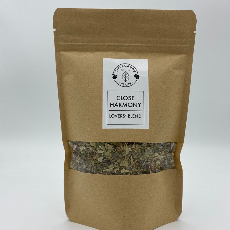 Close Harmony Herbal Tea - Lovers Blend - Tippecanoe Herbs Herbalist Milwaukee