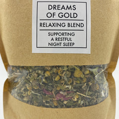 Dreams of Gold Tea - Tippecanoe Herbs