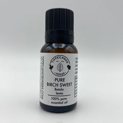 Birch Sweet Essential Oil - Organic - Tippecanoe Herbs Herbalist Milwaukee