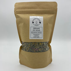 Dreams of Gold Tea - Tippecanoe Herbs Herbalist Milwaukee